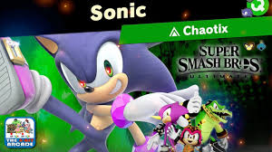 Sonic Light Commentary Super Smash Bros Ultimate World Of Light Facing Evil Sonic Friends Switch Gameplay