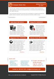 Company Newsletter Template Free Best Free Email Newsletter Design Templates Latest Collection 19