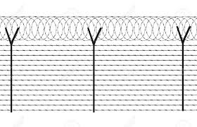 Fencing Element From A Barbed Wire High Definition Wallpaper