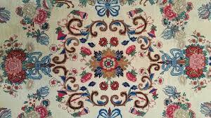 consigned persian rug 10 x14 handmade wool mashad