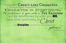 Christian Character Quotes