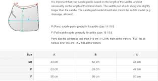 Horze Lisette Pony Pad Shetland Or Pony Size