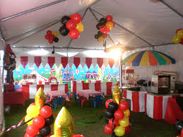 14 photos gallery of carnival decorations for the food stands