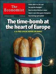 economist cover the economist cover with france and baguettes business insider