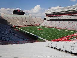 Nebraska Memorial Stadium View From Endzone 20 Vivid Seats