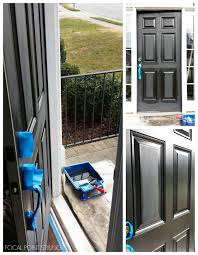 exterior how to paint an exterior door inspiring focal point styling how to paint interior black