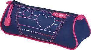 <b>Herlitz Пенал</b>-<b>косметичка Triangular</b> Heartbeat, 50021116. Купить ...