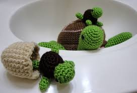 Free Crochet Turtle Pattern Extraordinary I Amicute A Bale Of Turtles