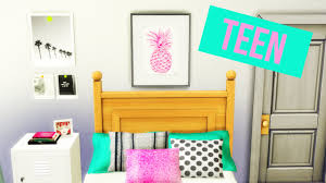 Sims Bedroom The Sims 4 2016 Teen Bedroom 1 Youtube