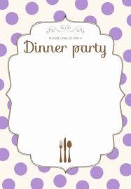 dinner template dinner invitation template free wilkesworks