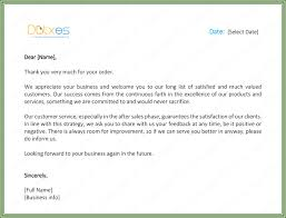 Thank You Letter To Customer Customer Thank You Letter 5 Best Samples And Templates