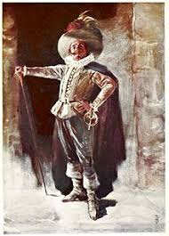 cyrano de bergerac  actor benoit constant coquelin as cyrano de bergerac