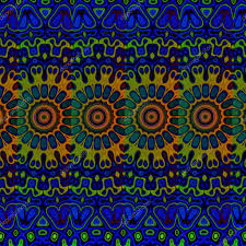 Background Cool Backgrounds Pic Blue Psychedelic Pattern