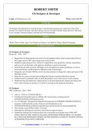 resume ux designer ux designer resume samples qwikresume