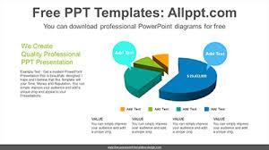 3d Pie Chart Powerpoint Diagram Template 3d Pie Chart