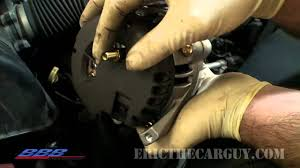 how to change (remove & replace) an alternator youtube alternator connector plug at How To Disconnect Alternator Wiring Harness