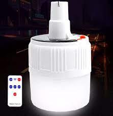Bóng đèn LED sạc tích điện | Bóng đèn năng lượng Mặt Trời