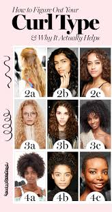 Curl Texture Chart How To Figure Out Your Curly Hair Type And Why It Actually