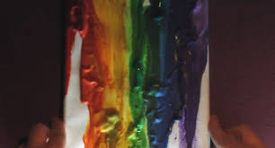 how to make melted crayon art 11 steps