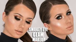 in this tutorial i will show you how to create a full glam smokey eye makeup look it s a very dramatic but yet still very cly and chic look that will