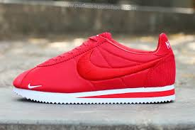nike running shoes 2016 red. nike classic cortez 2016 latest embroidery mens running shoes red white a
