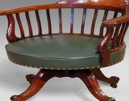 antique swivel office chair. Chair : Captain Dining Chairs New Antique Captains Office Swivel Of Elegant