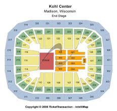 Kohl Center Tickets Kohl Center In Madison Wi At Gamestub