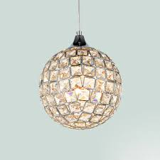 simple crystal ball pendant light. Modern Simple Crystal Ball Pendant Lamp Dinning Room Cafe Light Home Decoration Lighting Fixture Free L