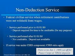 Planning For Retirement Federal Employees Retirement System