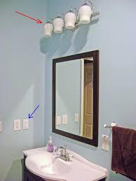 bathroom vanity light with outlet. Standard Height Of Bathroom Vanity Light Basement And Switch With Outlet K