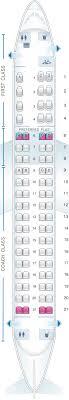 seat map for alaska airlines horizon air embraer 175