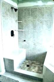 floating shower bench build seat built in marble contemporary bathroom size benches showers b home depot