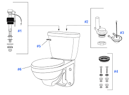 parts diagram for maxwell wall mounted toilets