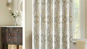 shower unusual cloth curtains with valance shining fabric
