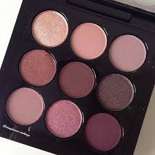 mac cosmetics burgandy eyeshadow palette