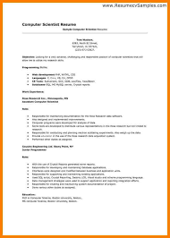 Objective In Resume For Computer Science 100 computer science resume objective memo heading 78
