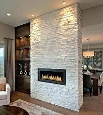 stone veneer fireplace over brick faux refacing a with panels diy stone veneer fireplace dry