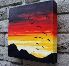 a sunset soar original acrylic painting by lisahpilchak on 49 00