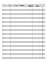 5 Best Images Of Free Printable Blank Checkbook Register Bank Ledger