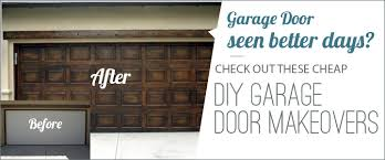 diy garage doorPimp Your Garage Door With These DIY Makeover Ideas