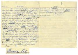 bruce lee school essay to beat paul fraser collectibles bruce lee essay