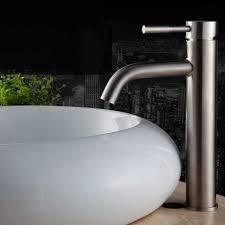 stainless steel bathroom fixtures. Stainless Steel Counter Basin Tap Bathroom Faucet Vessel Sink Mixer Taps Satin Nickel Brushed Fixtures Y