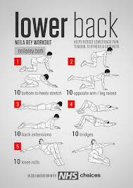 relief of lower back pain