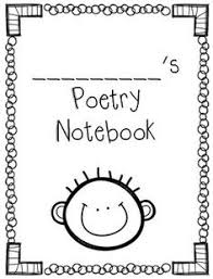 cute poetry notebook covers boy versions free printables