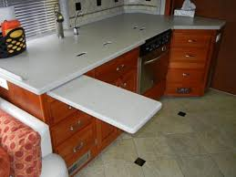 RV Countertop Extension Mod Photos