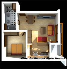 Single bedroom apartments with modern bedroom design ideas 1