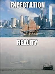 Image result for china smog meme
