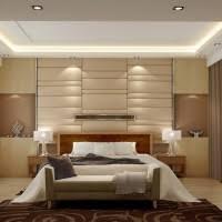 glam bedroom decorating ideas. brilliantly lit bedroom decorating ideas offer various lighting support and great padded wall backsplash glam