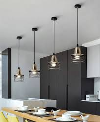 Suspended Lighting Ideas Drop Ceiling Lights Kitchen Farmhouse Pendant Lighting