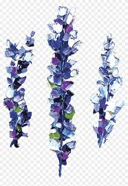 Temporary Tattoo Lavender тату цветок лаванды на руке Hd Png